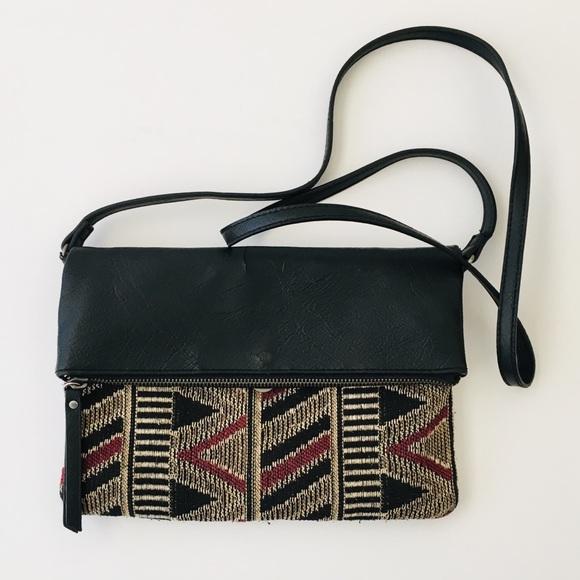 Style & Co Handbags - Cross Body Purse - Tribal Print Design